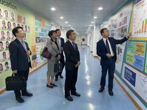 南京醫科大學校長率團訪問健康科學學院