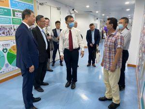 山西省代表團訪問健康科學學院